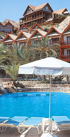 נפגעים בשריפת ענק במלון ''אורכידאה'' באילת